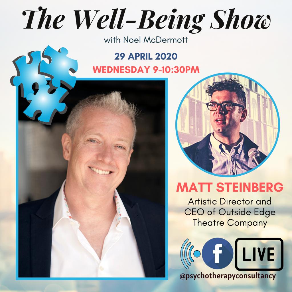 well-being show matt steinberg